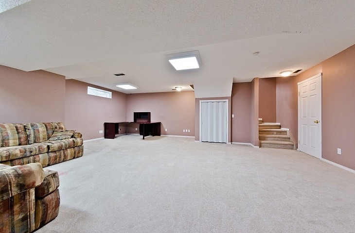 Fully Developed Basement