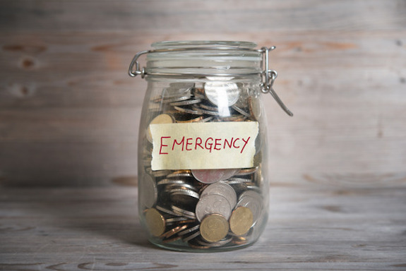 Emergency fund for apartment living