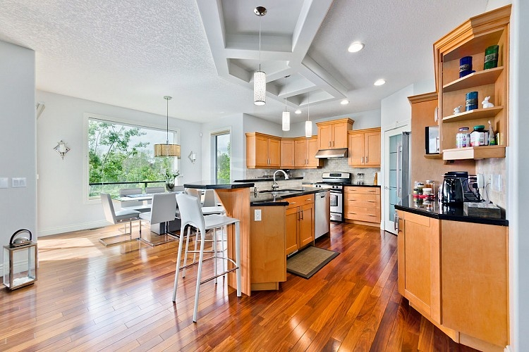 Spacious Kitchen in Rental Home