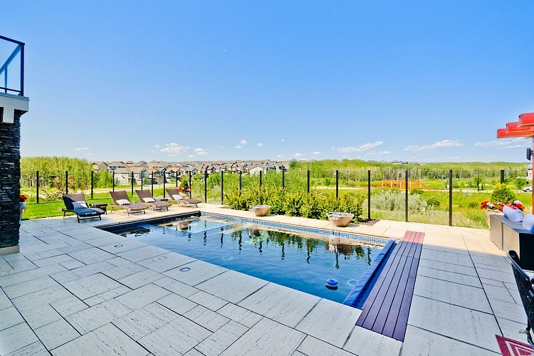 Beautiful In-ground Pool in executive home