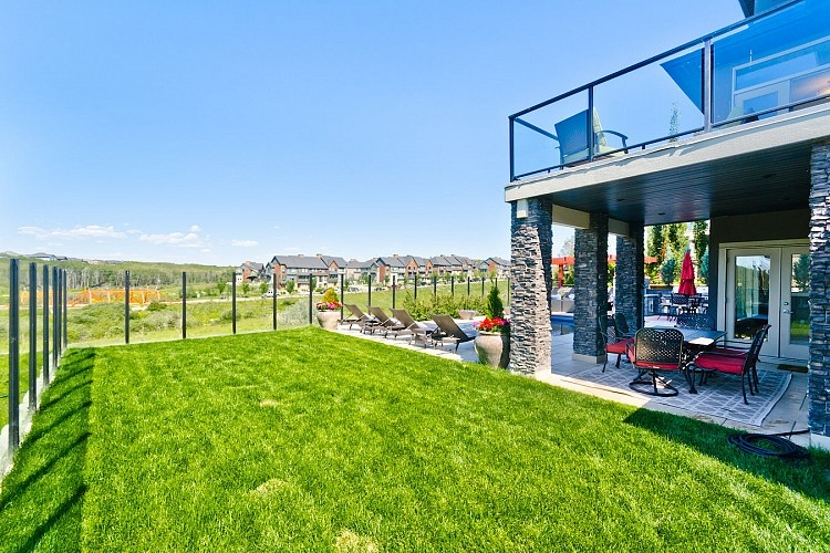 Nice Yard with views in Aspen Woods, Calgary