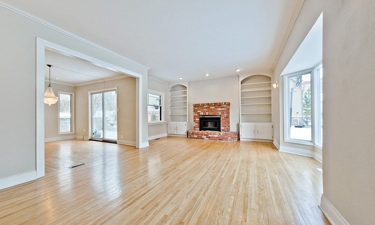 Open Concept Living Area in Mount Royal