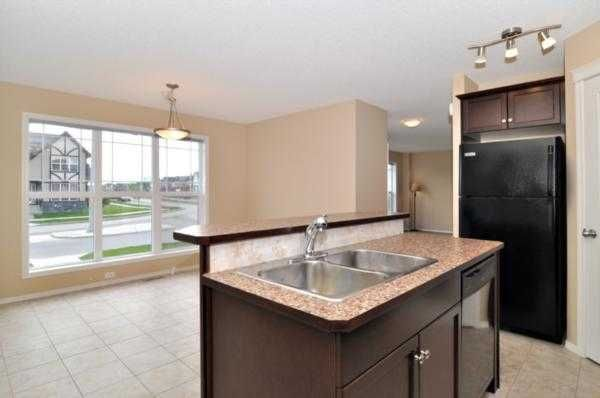Kitchen in rental property