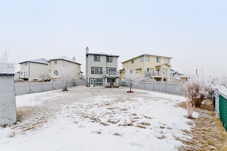 Huge backyard in Calgary