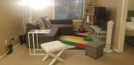 2 Br 2 bd apartment for rent