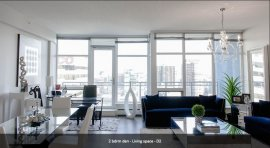 2 Bedroom - Various Lease Terms - Aura Tower
